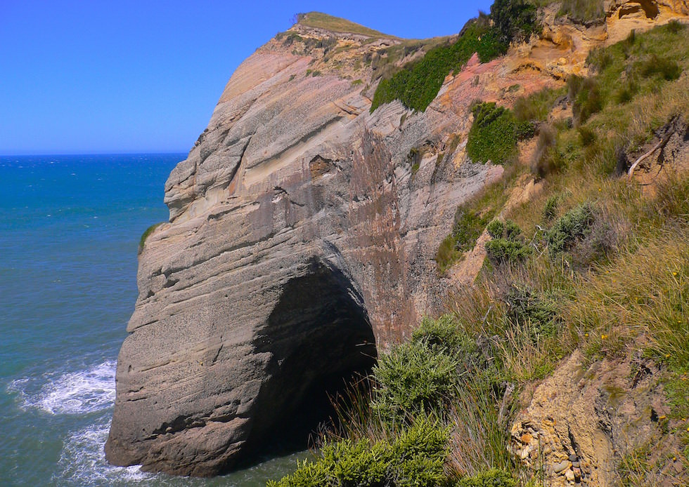 View from Cape Farewell NZ