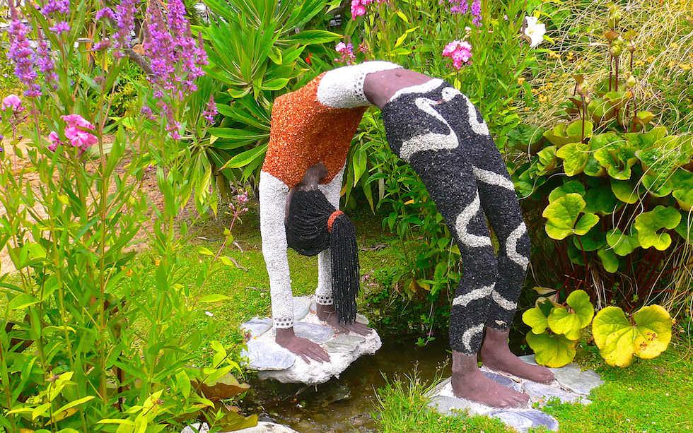 Little Paradise Tea Garden Sculpture near Queenstown
