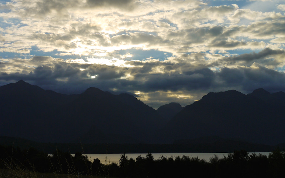 Lake Manapouri in Fiordland National Park
