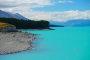 Lake Pukaki – eingerahmt von der atemberaubenden Landschaft des Mount Cook Nationalparks