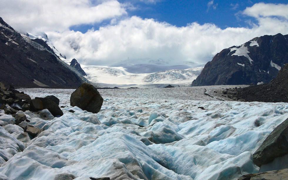 Tasman Glacier by Helicopter South Island NZ