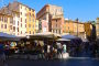 Rom – Campo de' Fiori ein berühmter Markt mit dunkler Vergangenheit