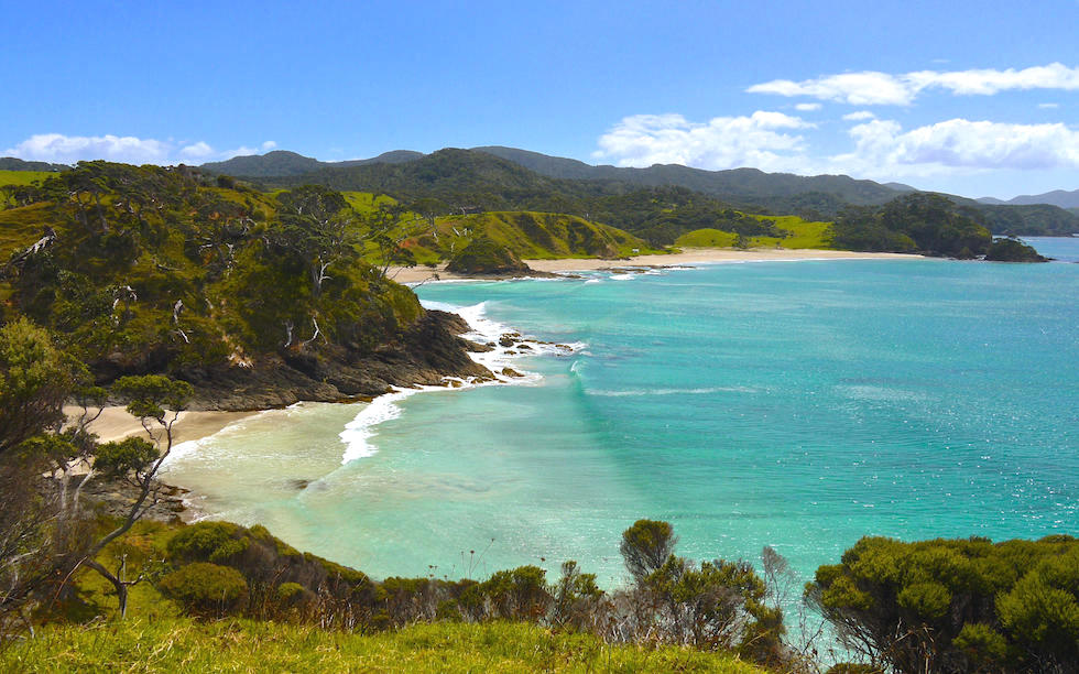Coast Line Bay of Island North Island NZ
