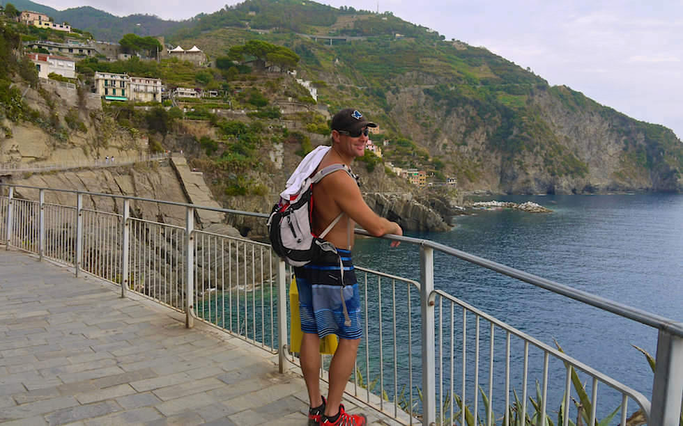 Via dell'Amore - Lovers Lane - Cinque Terre Italy