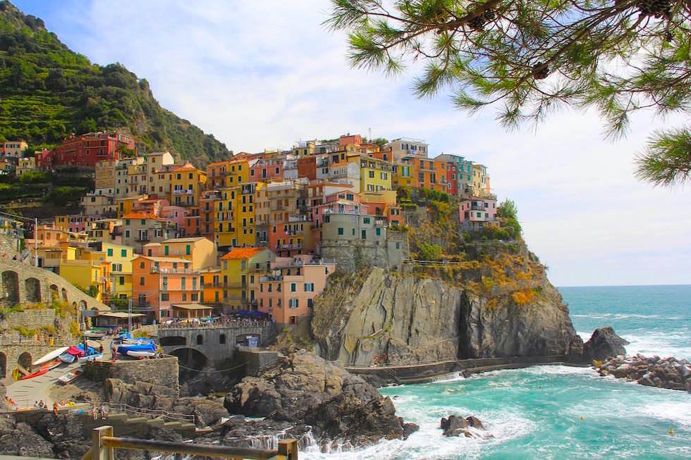 Manarola, das städtebauliche Schmuckstück der Cinque Terre - Italien