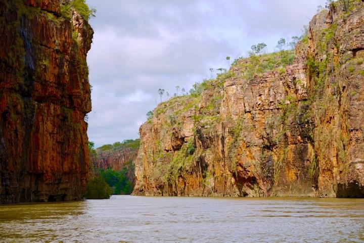 Katherine Gorge Bootstour oder Kajaktour - Atemberaubende Steilwände - Nitmiluk National Park - Northern Territory