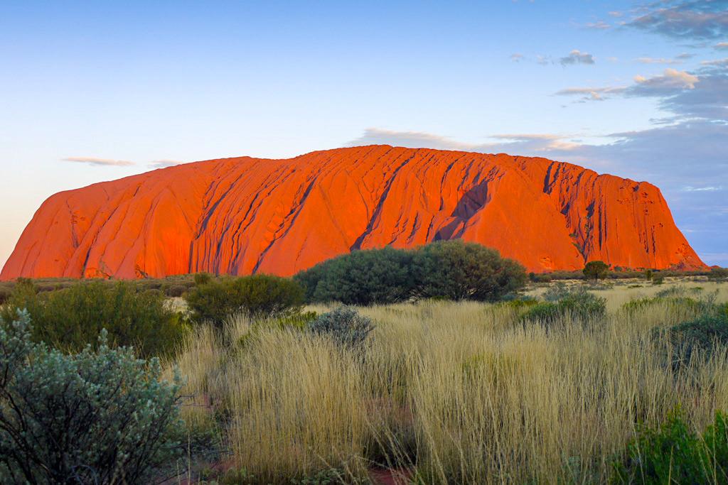 Uluru - Im Zentrum des Kontinents schlägt das rote Herz Australiens - Northern Territory