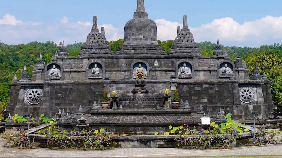 Brahmavihara - Hauptempel im Norden von Bali in Indonesien