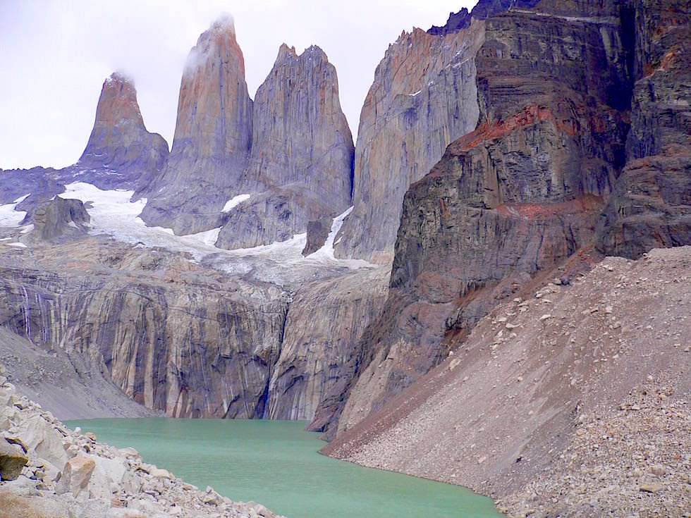 Torres del Paine - Granittürme im Torres del Paine Nationalpark - Patagonien, Süd-Chile