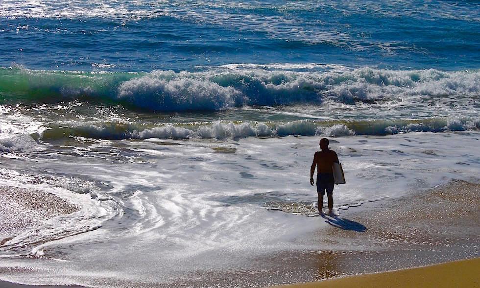 Surfen am Moffat Beach Queensland