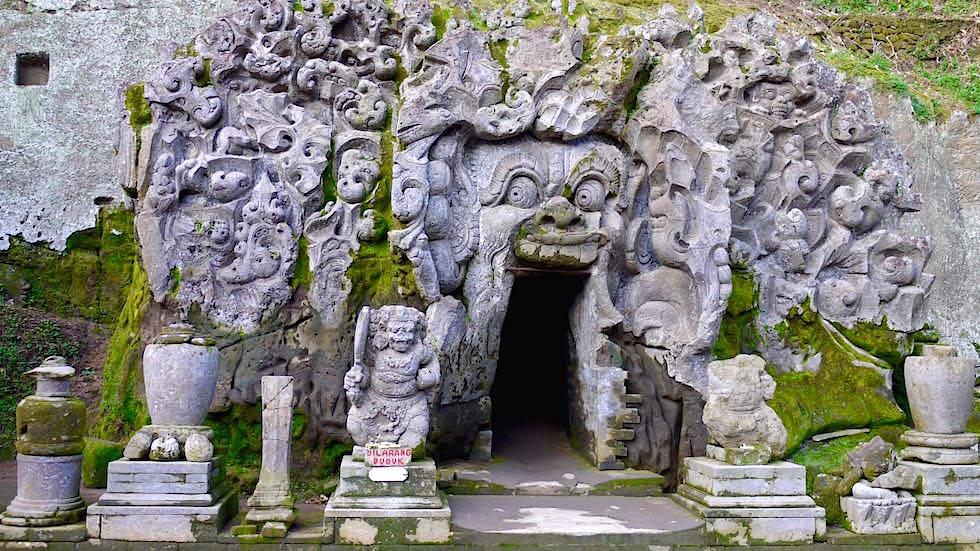 Goa Gajah - die Elefantenhöhle bei Ubud - Bali