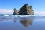 Wharariki Beach & Archway Islands – Überwältigender Strand & Sanddünen, Felsformationen, Seebären!