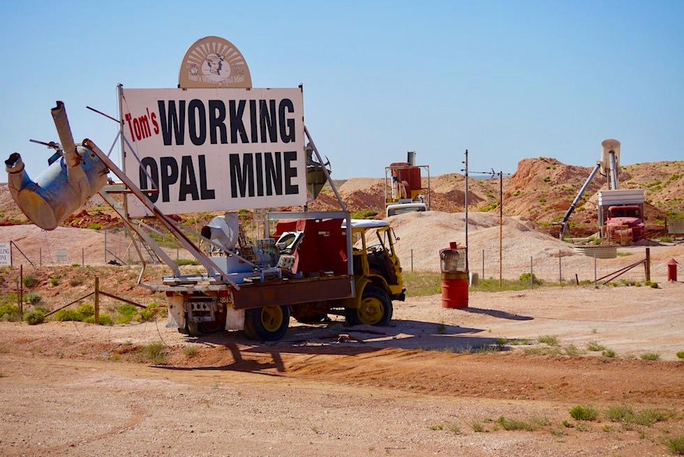 Coober Pedy - Arbeiten in einer Opalmine - South Australia