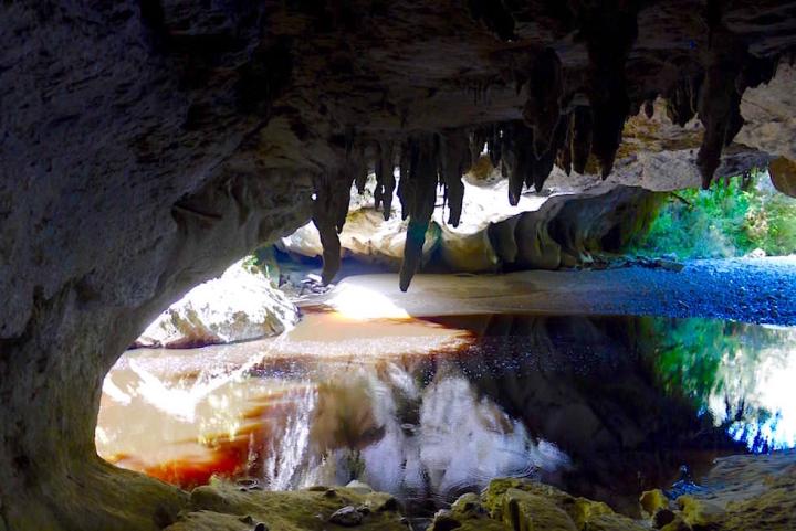 Moria Cave & Moria Gate Arch - Oparara Basin - Neuseeland