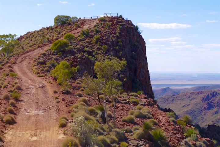 Siller's Lookout der Höhepunkt der Ridge-Top Tour & Finders Ranges - Outback South Australia
