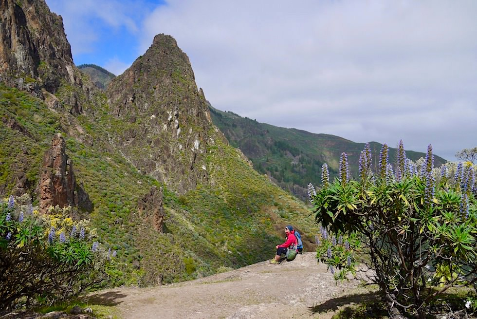 Roque Grande Wanderung - Wunderschöner Ausblick - Valsequillo - Gran Canaria