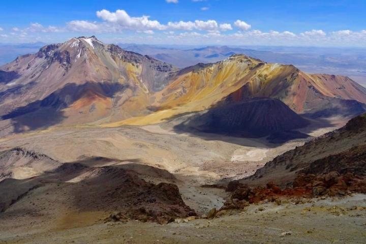 Chachani Besteigung: Atemberaubender Ausblick in die bunte Bergwelt - Arequipa - Peru