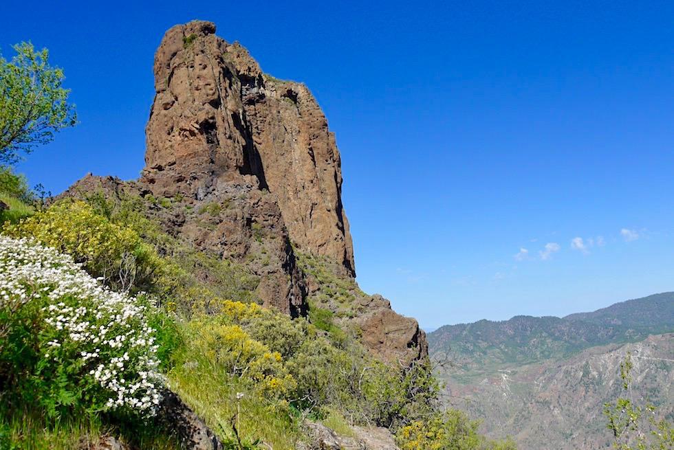 Roque Bentayga - 2. größter Monolith in grandioser Bergkulisse - Gran Canaria