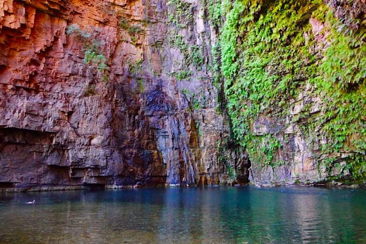 Emma Gorge & Wanderung - Schwimmen in der Schlucht - Kimberley - Western Australia