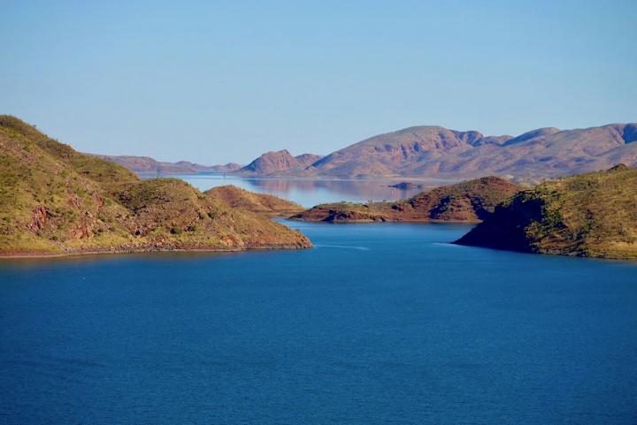 Atemberaubende Lake Argyle Wanderungen mit spektakulären Weitblicken - Kimberley - Western Australia