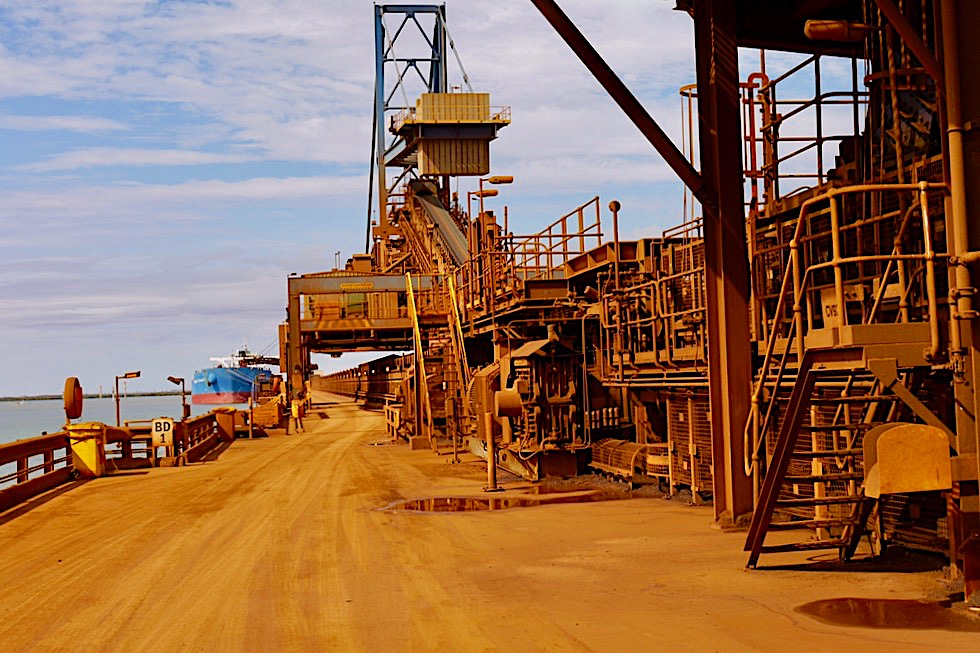 Super interessant: Port Hedland Seafarers Centre Fortescue Port Facility Tour - Pilbara - Western Australia