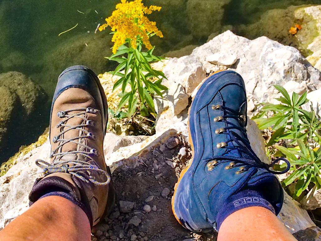 Lowa Tibet GTX und Lowa Renegade MID GTX - Die perfekte Wanderschuh- / Bergschuh-Kombi, die jedes Gelände und jeden Berg abdecken