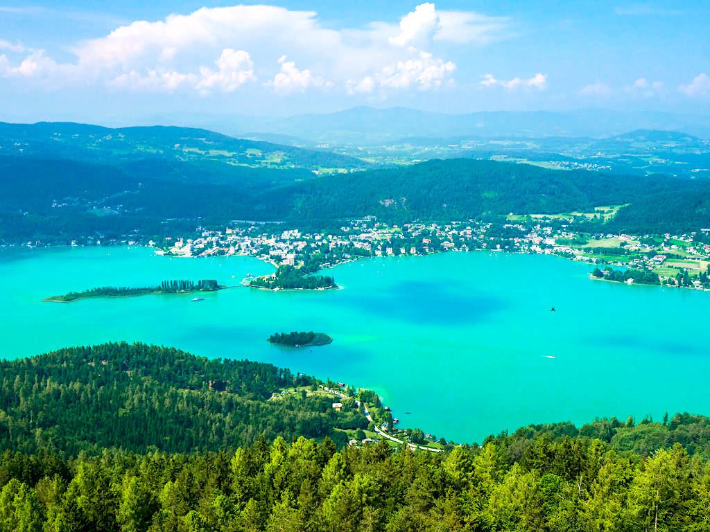 Aussichtsturm Pyramidenkogel - Atemberaubender Ausblick über den Wörthersee - Kärnten, Österreich
