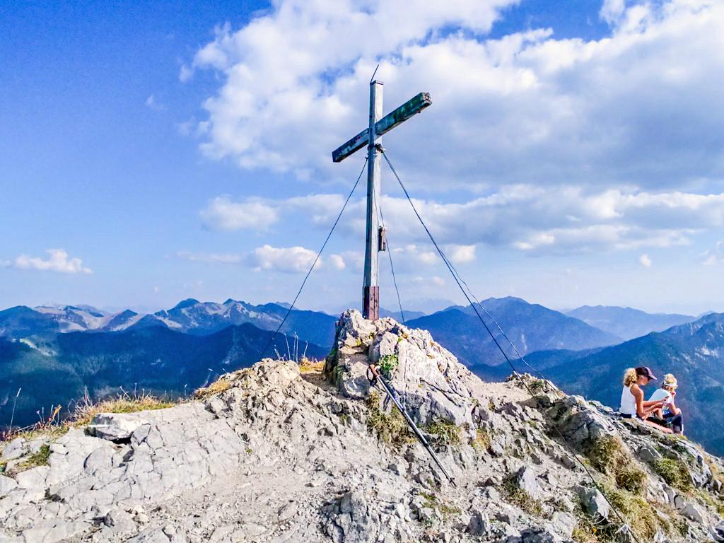 Risserkogel - Gipfel, Gipfelkreuz & faszinierender Ausblick - Einer der schönsten und höchsten Tegernseer Berge - Bayern