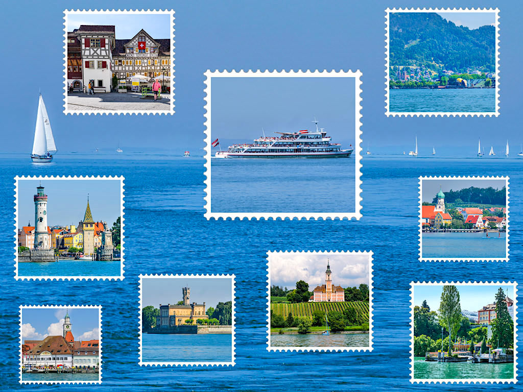 Bodensee Schiffsfahrt - Die schönsten Schiffsausflüge, Schiffsrundfahrten & alle Sehenswürdigkeiten des Bodensees - Überlingen, Baden-Württemberg