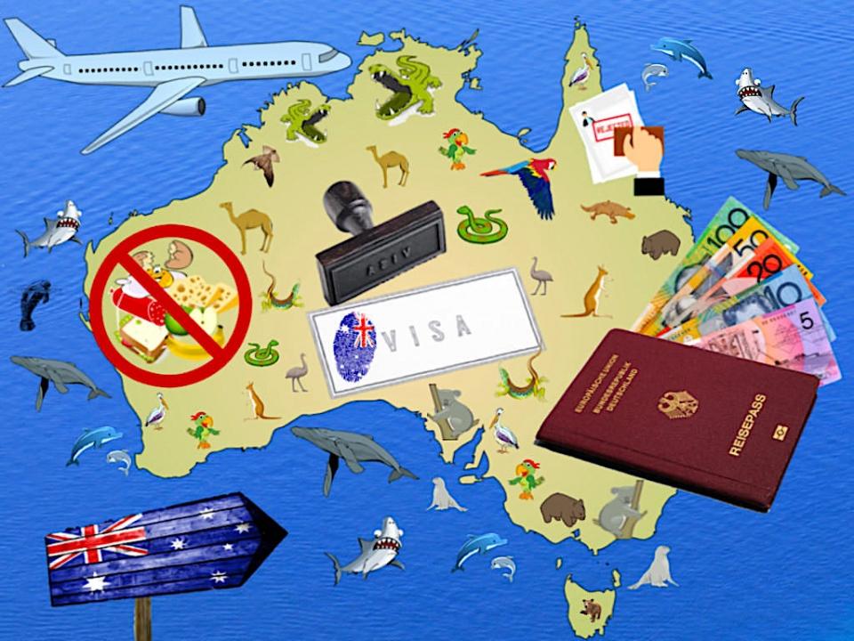 Australien Visum: Welches Touristenvisum ist das richtige? Wie kannst du das Australien Visa beantragen - Einfuhrbestimmungen & Mehrwertsteuer-Rückerstattung GST