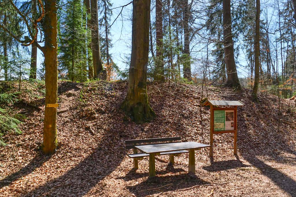 Burgstall Hoher Brunnen & Sinterterrassen - Geheimtipp & faszinierende Rundwanderung bei Erasbach - Altmühltal, Bayern