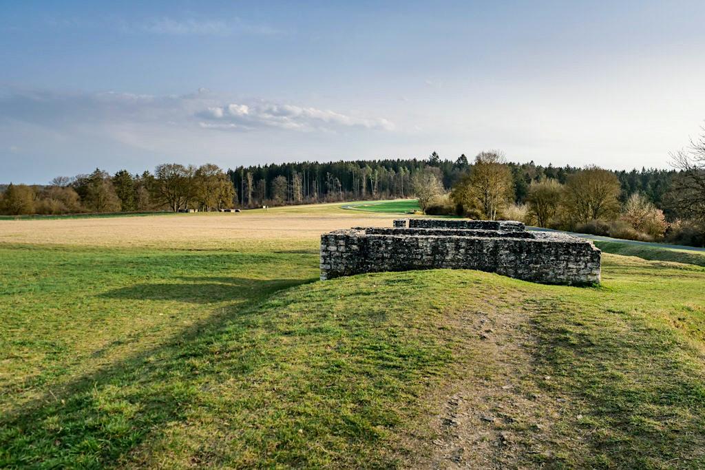 Kastell Castra Vetoniana - Ehemaliges Militärlager zur Limessicherung - Altmühltal, Bayern