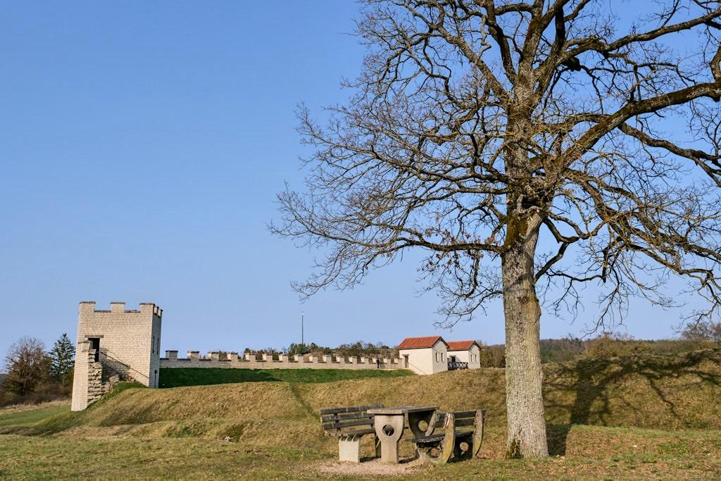 Renoviertes Römisches Kastell Pfünz - Altmühltal, Bayern