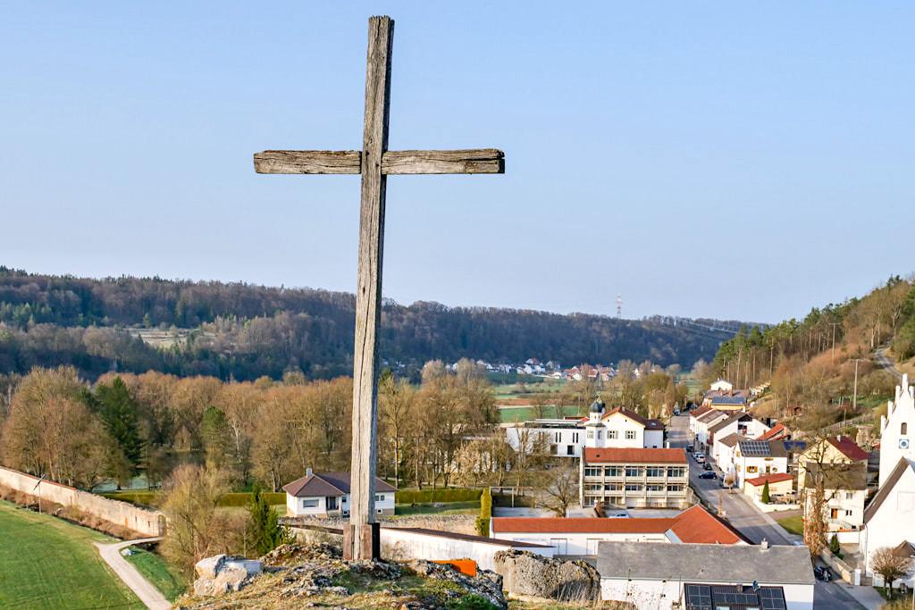 Kirchberg von Pfünz & toller Aussichtspunkt - Altmühltal, Bayern