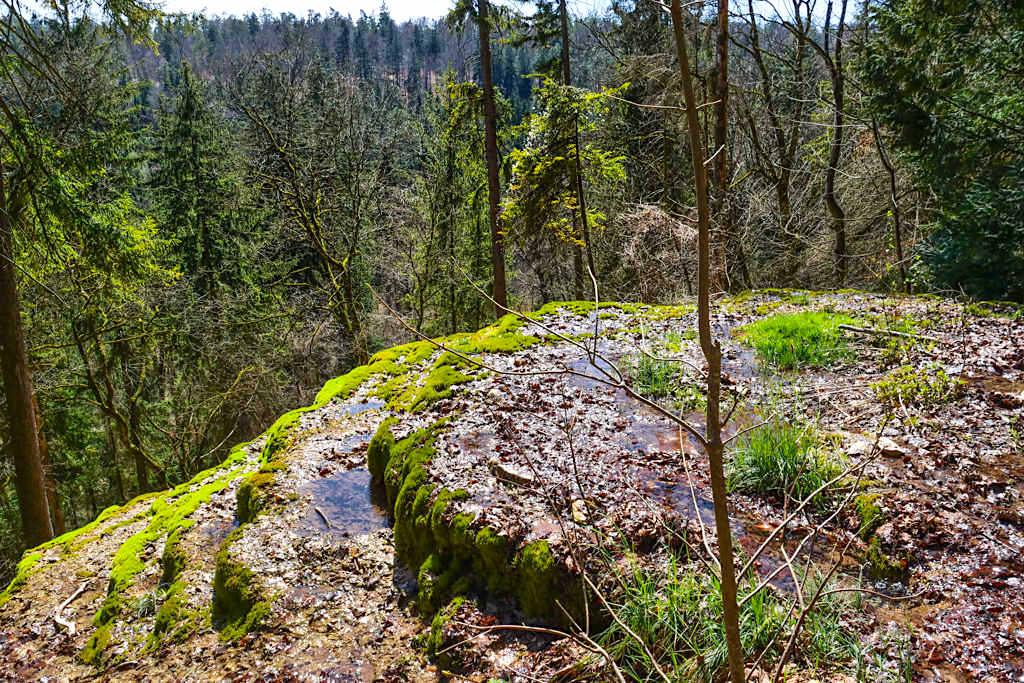 Sinterstufen Hohen Brunnen & Steinerne Rinne - Leichte Geheimtipp-Rundwanderung bei Erasbach im schönen Altmühltal - Bayern