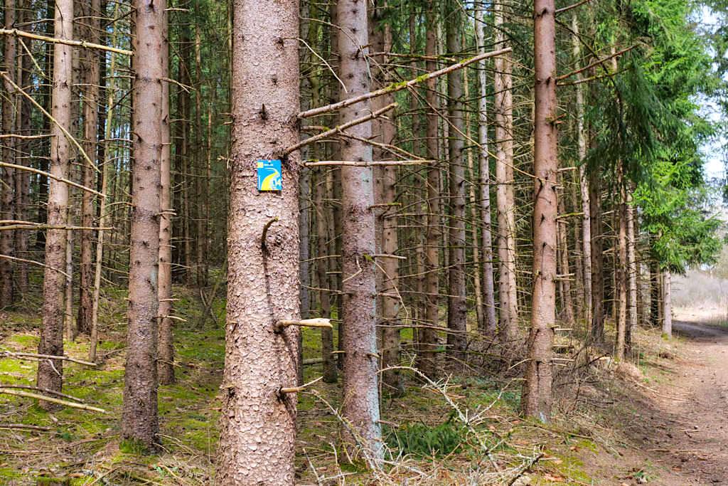 TraumSchlaufe Eichstätt Nr. 14 Wegbeschilderung - Altmühltal, Bayern