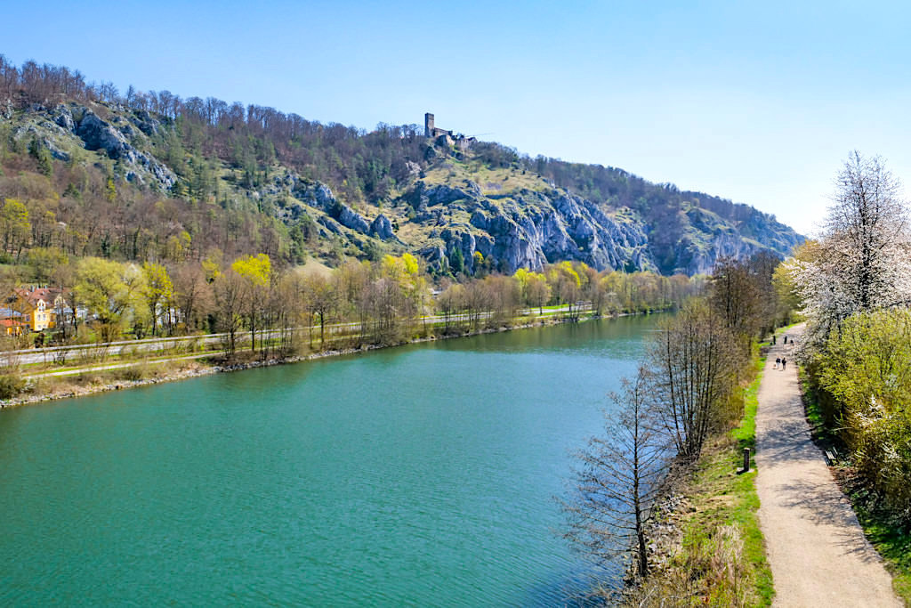 TraumSchlaufen Wanderungen im Altmühltal - Rundwanderungen entlang dem Altmühltal-Panoramaweg - Bayern