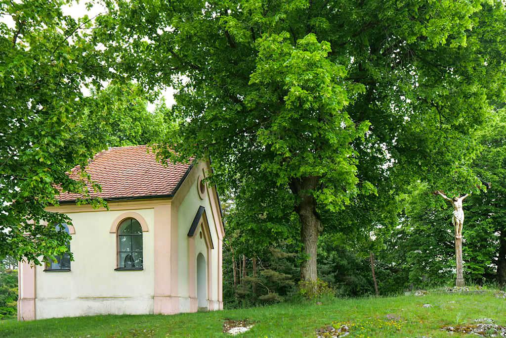 Geotop Kalvarienberg Gosheim - Herz-Jesu-Kapelle - Bayern