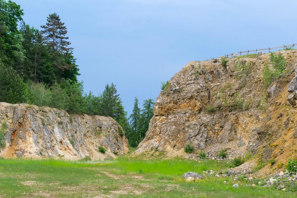 Geotop Lindle - Auswirkungen des Ries-Ereignis auf die Erdkruste - Donau-Ries, Bayern