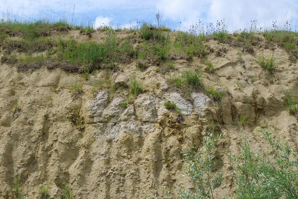 Suevit-Steinbruch Aumühle - Schönste Geotope Bayerns - Donau-Ries